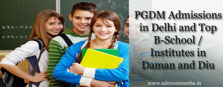 PGDM Admissions in Daman and Diu