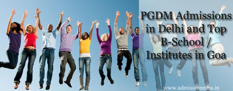 PGDM Admissions in Goa