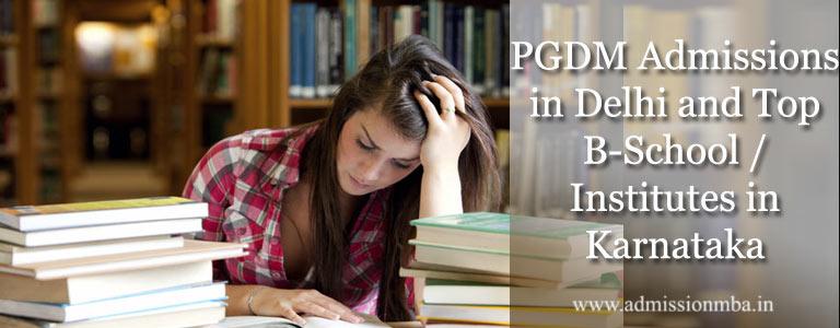 PGDM Admissions in Karnataka