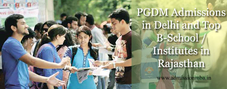 PGDM Admission in Rajasthan