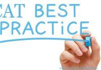 Cat 2018 Best Practices