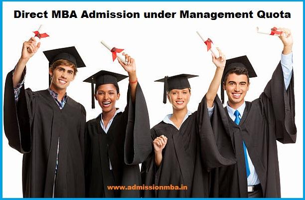 Direct MBA Admission under Management Quota