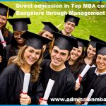 Direct admission in Top MBA colleges in Bangalore through Management quota
