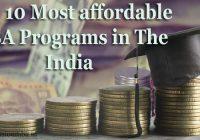 Most Affordable MBA Program