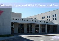 YMCA University Approved MBA Colleges fees