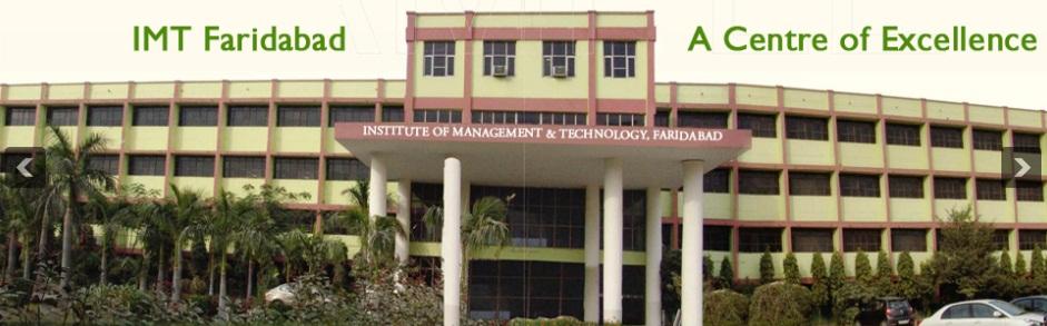 IMT Faridabad Admission 2019