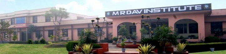 MR DAV Institute of Management Studies Campus