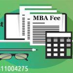MBA Fees Top B-Schools India