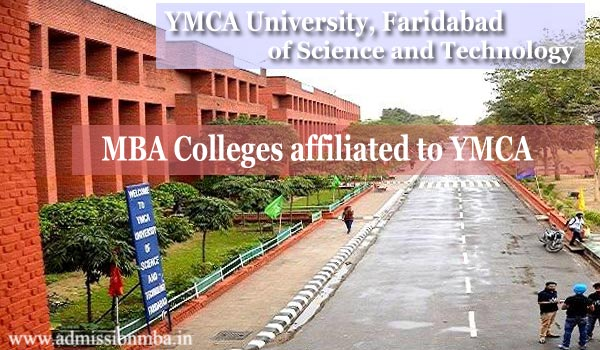 MBA Colleges affiliated to YMCA University