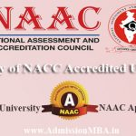 NAAC Accredited University in India