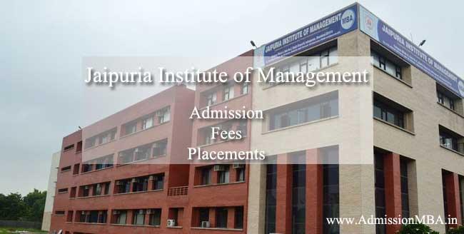Admission Jaipuria Ghaziabad