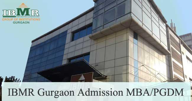 IBMR Gurgaon Admission