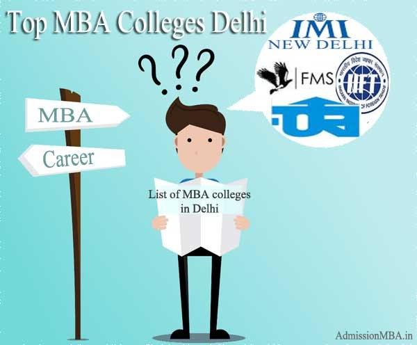 List of mba in delhi