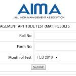 MAT Result Feb 2019