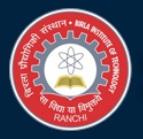 BIT Mesra Ranchi