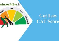 CAT 2019 Got Low CAT Score
