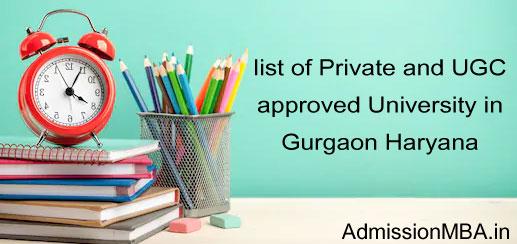 Private University in Gurgaon Haryana