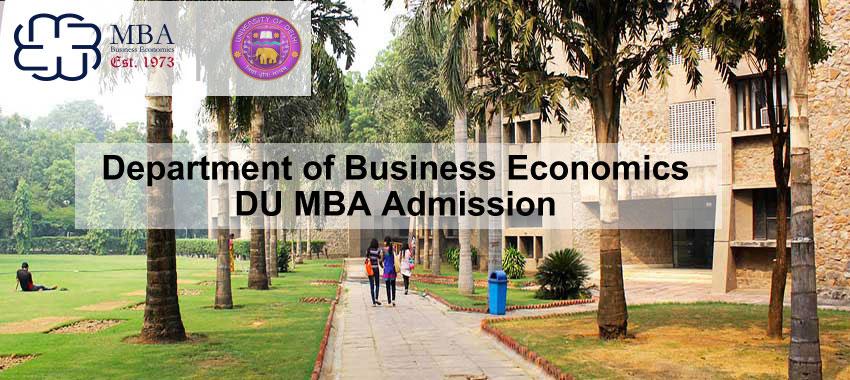 DBE DU MBA Admission 2019
