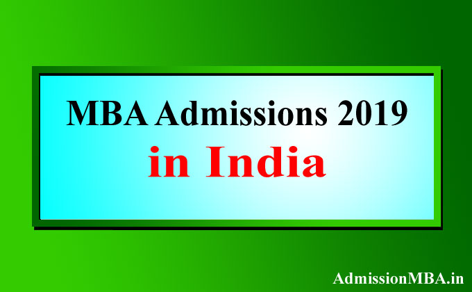 MBA Admissions India