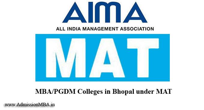 Bhopal under MAT college
