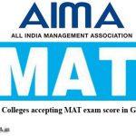 MBA/PGDM Colleges in Gandhinagar under MAT