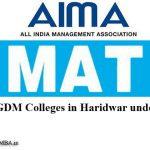 MBA Colleges in Haridwar Accepting Mat Entrance Exam