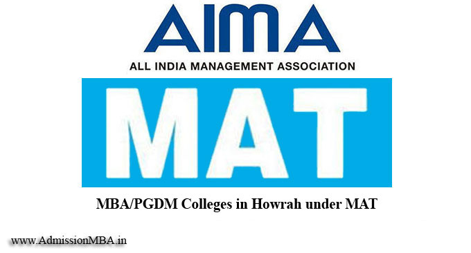 MBA/PGDM Colleges in Howrah under MAT