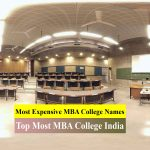 Top 10 Most Expensive MBA Colleges Names In India: offering PGDM