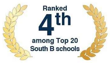 4th ranked among top 20 b-school