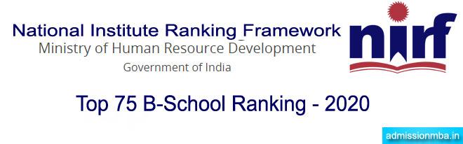 NIRF B School Ranking 2020