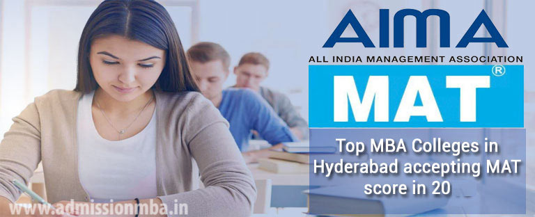 MBA Colleges in Hyderabad Accepting Mat Entrance Exam