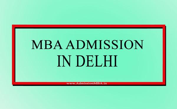 MBA Admission in Delhi