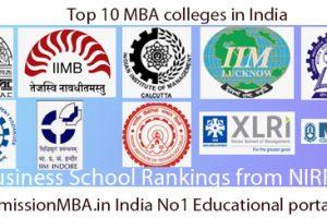 Top 10 MBA Rankings in India: B-school Rankings, Colleges