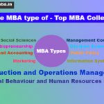 What is the MBA Specialization Types in India Top Colleges ?